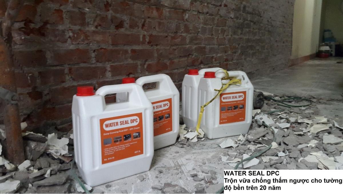 Water Seal DPC - Chất chống thấm tinh thể thẩm thấu, Water Seal DPC - Chat chong tham tinh the tham thau