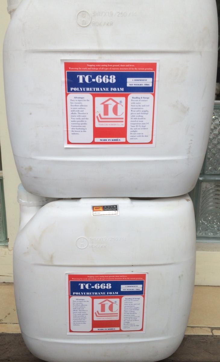 TC 668 - Keo PU trương nở ( Polyurethane Foam), TC 668 - Keo PU truong no ( Polyurethane Foam), pu trương nở, pu truong no