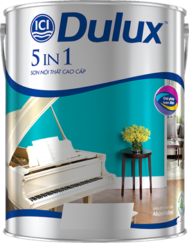 DULUX 5IN1 - SƠN NỘI THẤT CAO CẤP , DULUX 5IN1 - SoN NoI THaT CAO CaP