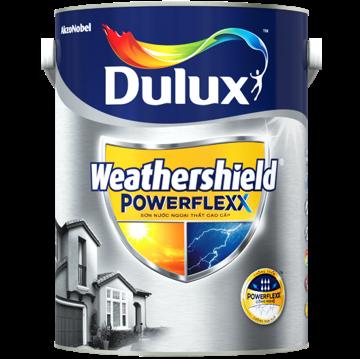 Dulux Weathershield Powerflexx - Sơn ngoại thất cao cấp, Dulux Weathershield Powerflexx - Son ngoai that cao cap