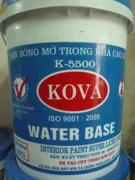 K5500 - GOAL Sơn bán bóng cao cấp trong nhà, K5500 - GOAL Son ban bong cao cap trong nha