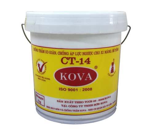KOVA CT-14 - là chất chống thấm co giãn trám trét vệt nứt bê tông, KOVA CT-14 - la chat chong tham co gian tram tret vet nut be tOng