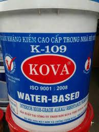 KOVA K109 - GOAL - Sơn loát kháng kiềm cao cấp trong nhà, KOVA K109 - GOAL - Son loat khang kiem cao cap trong nha