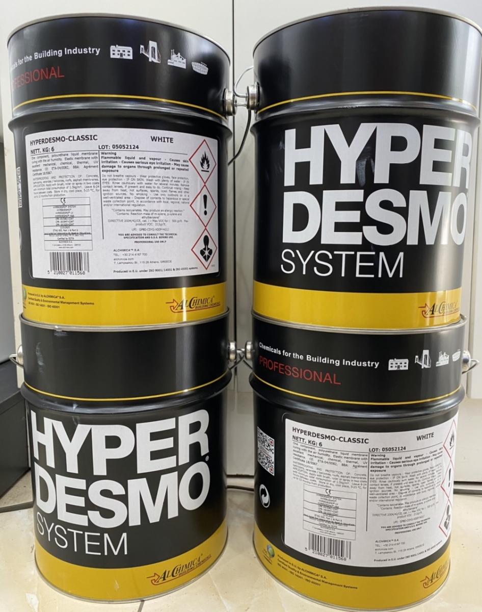 HYPERDESMO CLASSIC - chống thấm Polyurethane 1 thành phần gốc dung môi, HYPERDESMO CLASSIC - chong tham Polyurethane 1 thanh phan goc dung mOi