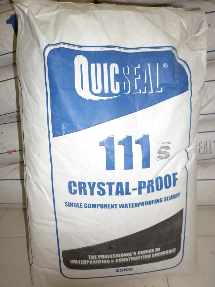 QUICSEAL 111 - Chất chống thấm dạng tinh thể, QUICSEAL 111 - Chat chong tham dang tinh the