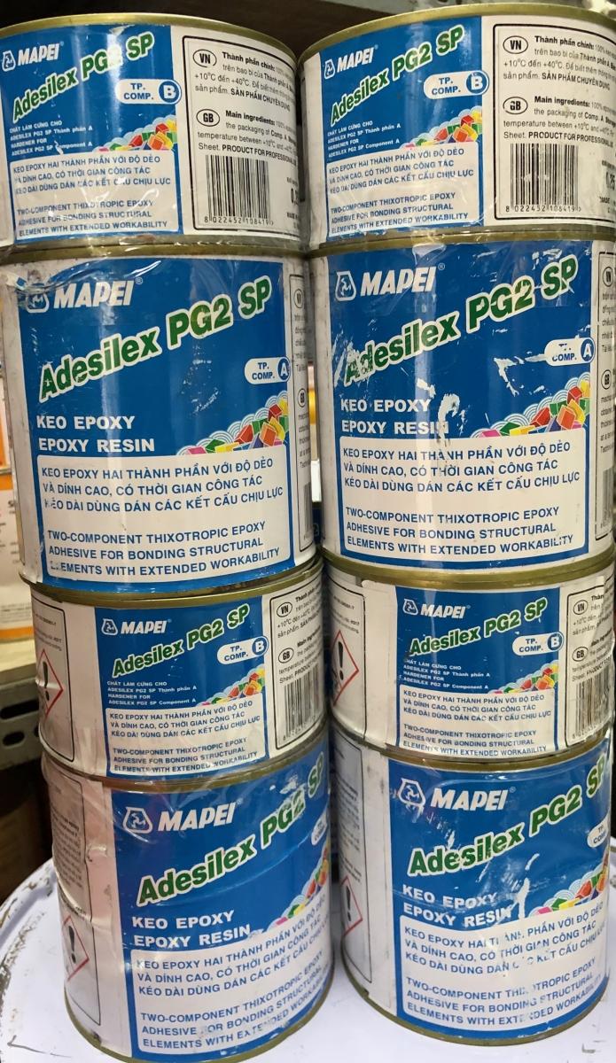 ADESILEX PG2 1KG - Chất kết dính gốc nhựa epoxy 2 thành phần, ADESILEX PG2 1KG - Chat ket dinh goc nhua epoxy 2 thanh phan