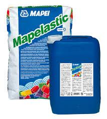 MAPELASTIC - Vữa chống thấm đàn hồi gốc xi măng hai thành phần , MAPELASTIC - Vua chong tham Dan hoi goc xi mang hai thanh phan