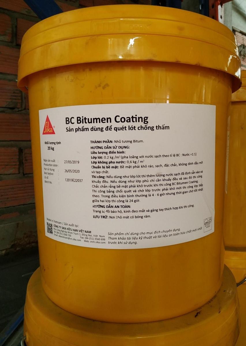 BC Bitumen Coating