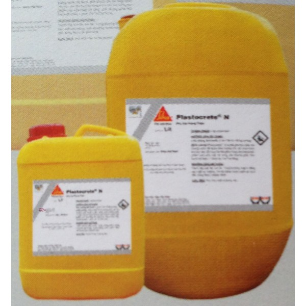 Plastocrete N - Phụ gia chống thấm cho bê tông, Plastocrete N - Phu gia chong tham cho be tOng