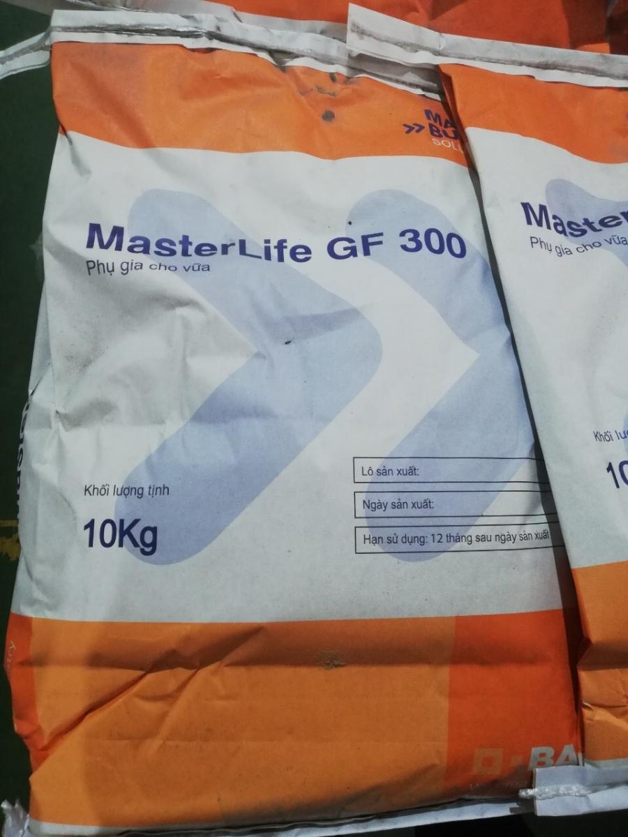 MasterLife GF 300 – phụ gia trương nở bù co ngót cho vữa, MasterLife GF 300 – phu gia truong no bu co ngot cho vua