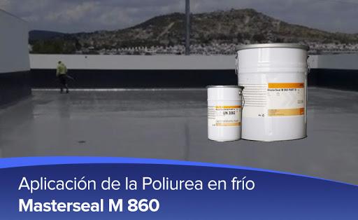 MasterSeal M 860 - Màng chống thấm polyurea 2 TP  có độ đàn hồi cao, MasterSeal M 860 - Mang chong tham polyurea 2 TP  co Do Dan hoi cao