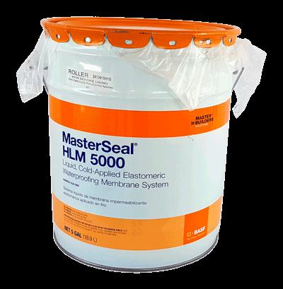 MasterSeal HLM 5000 R - Hệ màng chống thấm, dạng lỏng gốc polyurethane, MasterSeal HLM 5000 R - He mang chong tham, dang long goc polyurethane