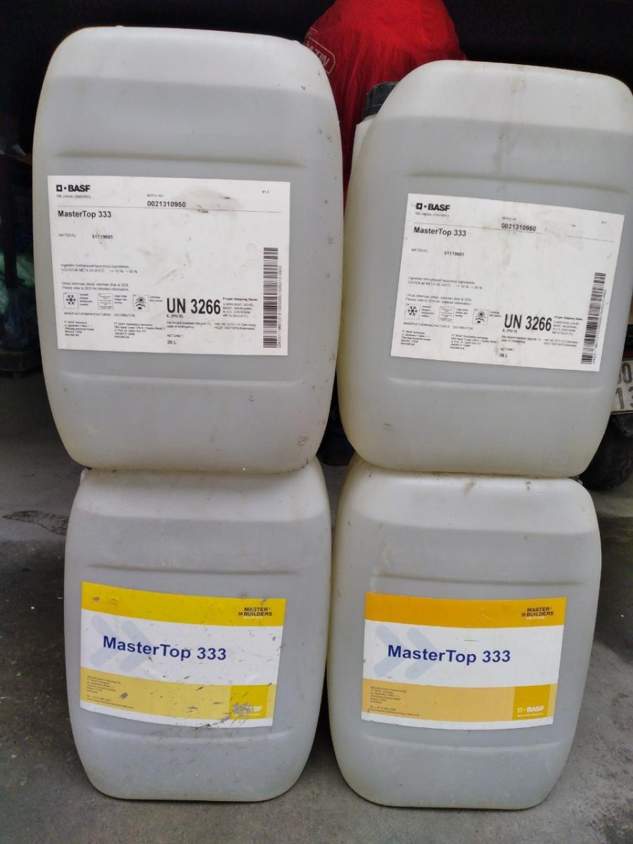 MasterTop 333 - Chất tăng cứng sàn và ngăn bụi bề mặt dạng lỏng, MasterTop 333 - Chat tang cung san va ngan bui be mat dang long