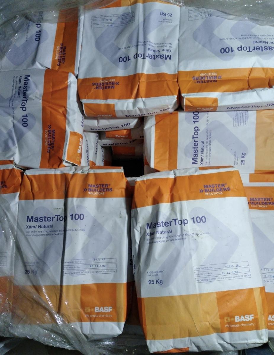 MASTERTOP 100 - Chất làm cứng sàn ( màu xám), MASTERTOP 100 - Chat lam cung san ( mau xam)