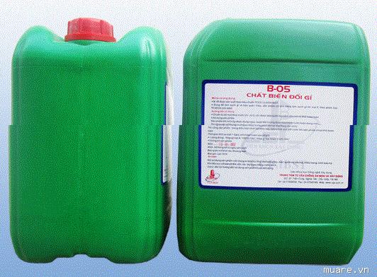 B-05 là chất tẩy gỉ thép , B-05 la chat tay gi thep