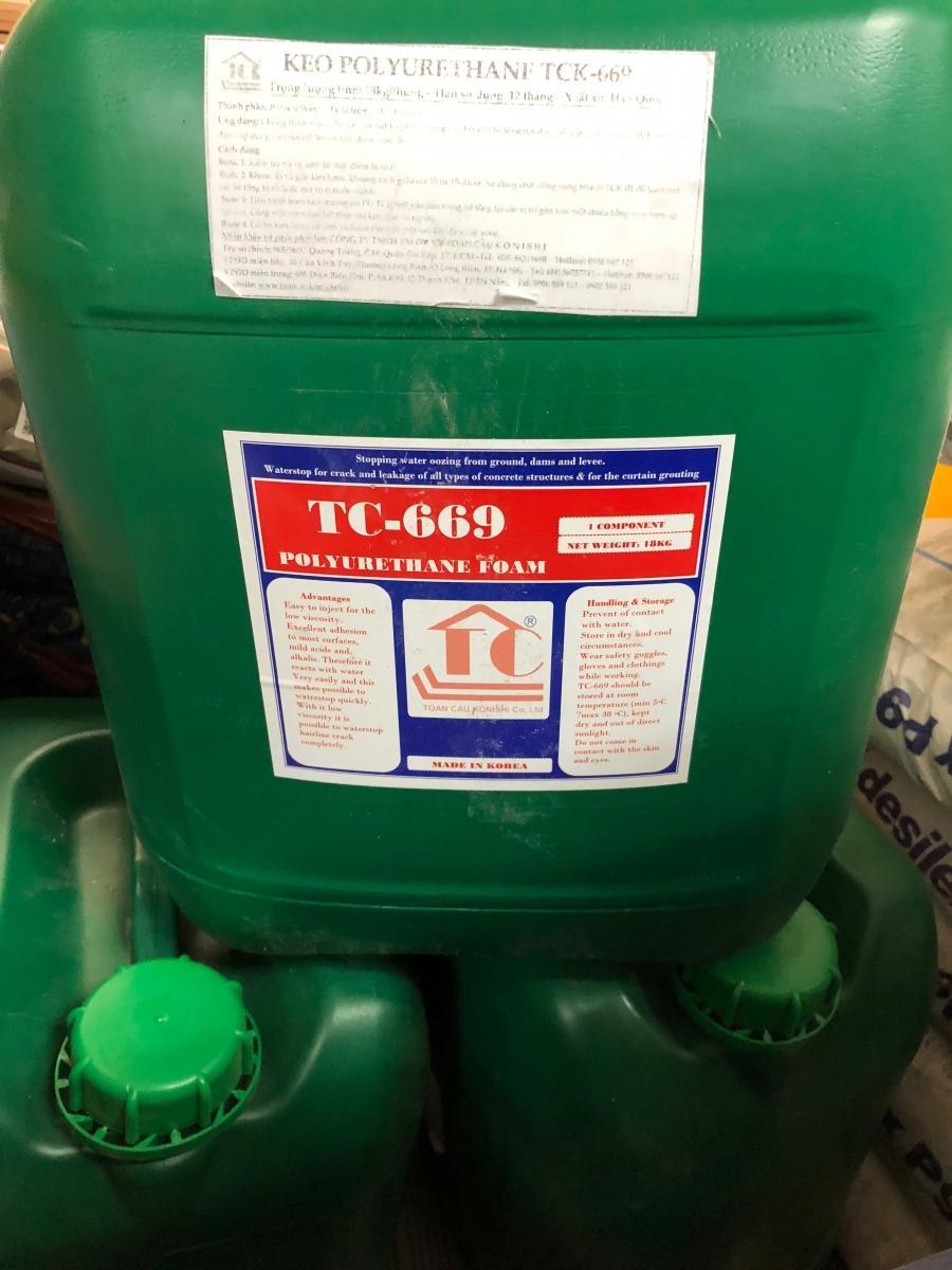 Keo PU trương nở TC - 669 -  Polyurethane Foam, Keo PU truong no TC - 669 -  Polyurethane Foam